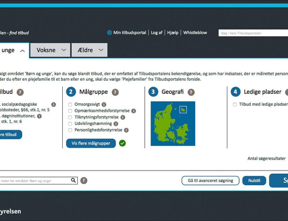 UX design til avanceret søgning for Socialstyrelsen