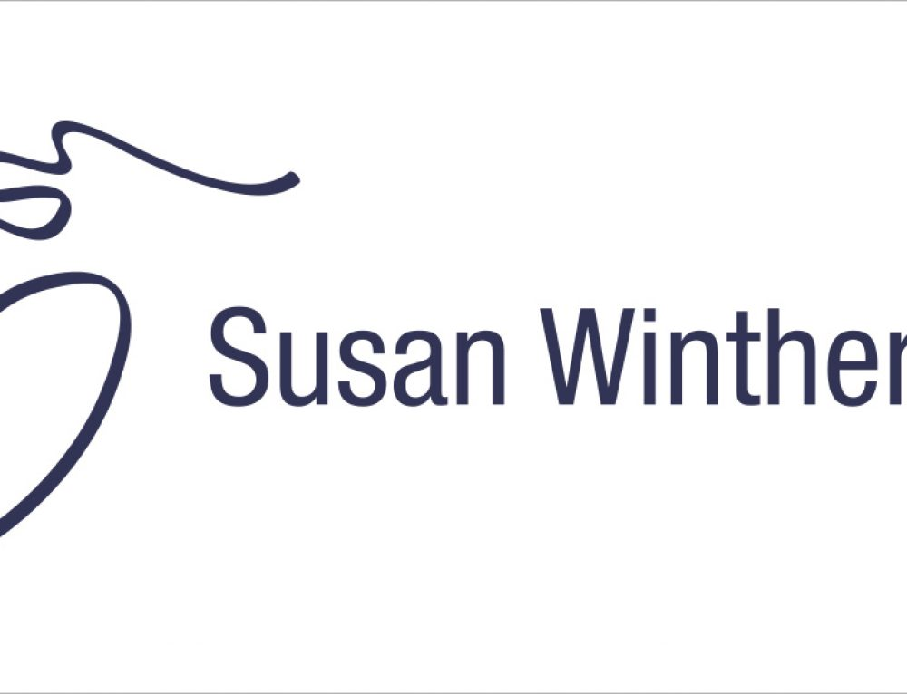 Visuel identitet for Susan Winther a/s