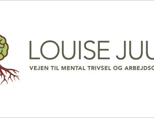 Logo udvikling og website for psykolog Louise Juul